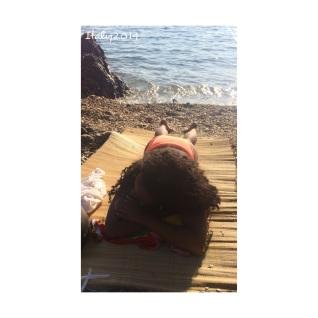 beach chillin'